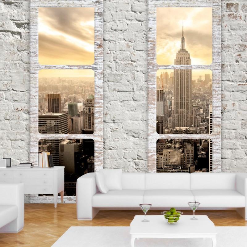 Papier peint - New York: view from the window - Beaux Meubles Pas Chers