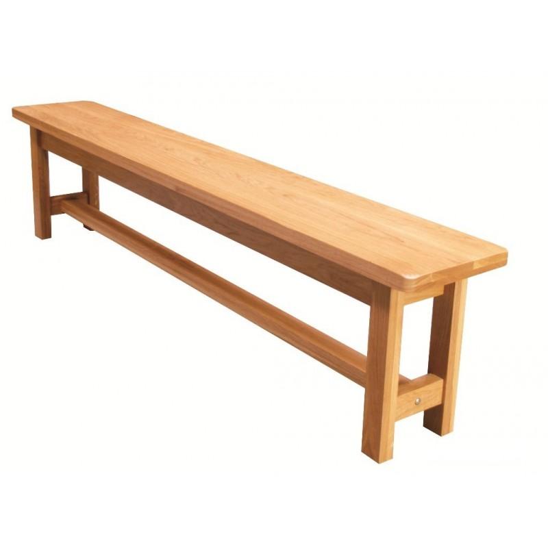 banc ch ne clair pied carre beaux meubles pas chers. Black Bedroom Furniture Sets. Home Design Ideas
