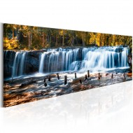 Tableau  Autumnal Waterfall