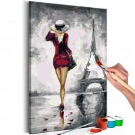 Tableau à peindre par soimême  Parisienne