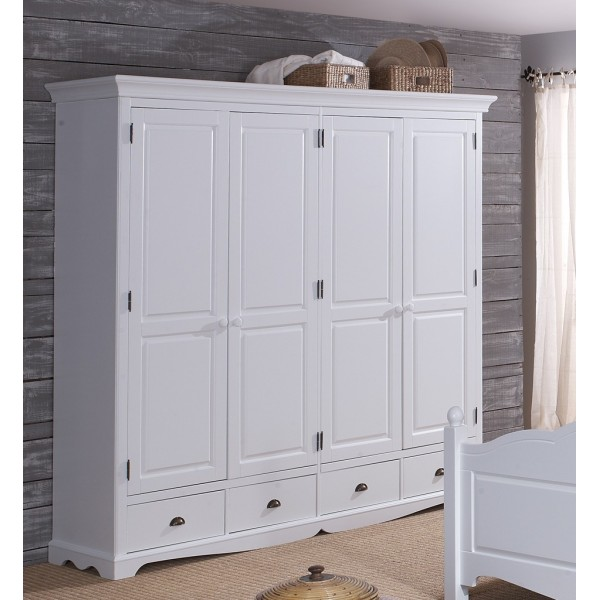 armoire penderie blanche une armoire laqu blanc avec miroir au pictures to pin on pinterest. Black Bedroom Furniture Sets. Home Design Ideas