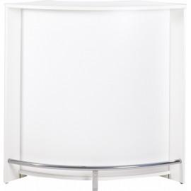 Meuble Bar Comptoir Cuisine Blanc 107 cm