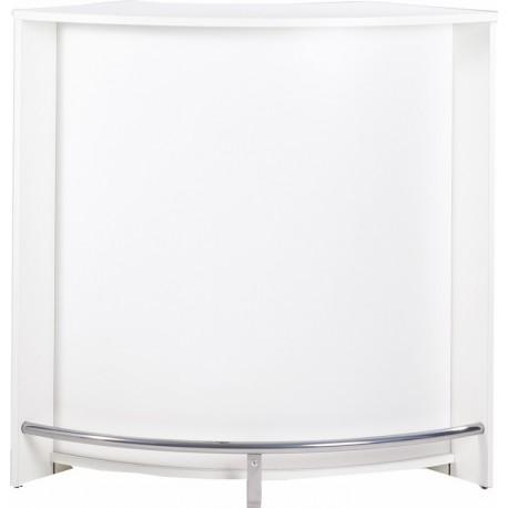 Meuble Comptoir Bar Blanc 106 cm