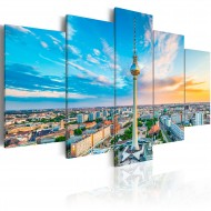 Tableau  Berlin TV Tower, Germany