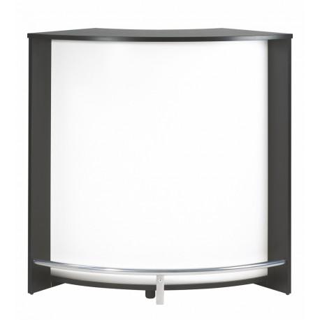 Meuble d'Accueil Noir 106 cm