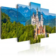 Tableau  Neuschwanstein Castle