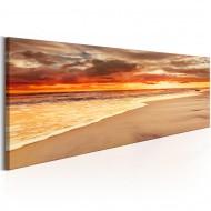 Tableau  Beach Beatiful Sunset