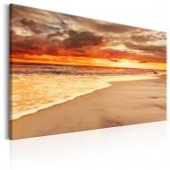 Tableau  Beach Beatiful Sunset II