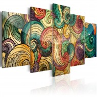Tableau  Colourful Waves