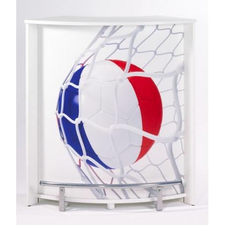 bar comptoir blanc ballons football beaux meubles pas chers. Black Bedroom Furniture Sets. Home Design Ideas