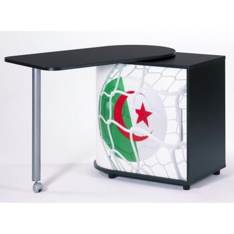 Bureau Informatique Noir Pivotant Coupe du Monde