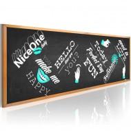 Tableau  Positive blackboard
