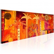 Tableau  African Collage