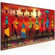Tableau  African Women Dancing