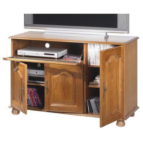 meuble tv hi fi grand cran ch ne. Black Bedroom Furniture Sets. Home Design Ideas