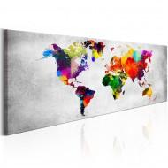 Tableau  World Map Coloured Revolution