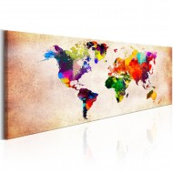 Tableau  World Map Colourful Ramble