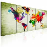 Tableau  Colourful Continents