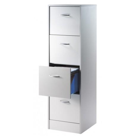 meuble classeur 4 tiroirs pour dossiers suspendus beaux meubles pas chers. Black Bedroom Furniture Sets. Home Design Ideas
