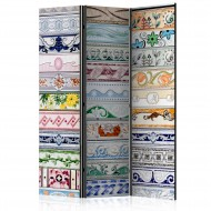 Paravent 3 volets  Collection of Tiles [Room Dividers]