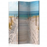 Paravent 3 volets  Holiday at the Seaside [Room Dividers]