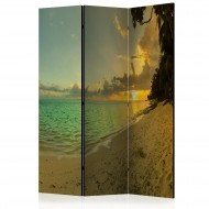 Paravent 3 volets  Sunset in Tahiti [Room Dividers]