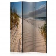Paravent 3 volets  Beach in Mrzezyno [Room Dividers]