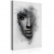 Tableau  Portrait gris