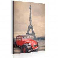 Tableau  Retro Paris