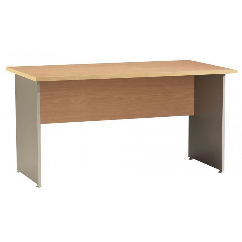 bureau winch 140 x 80 cm h tre alu beaux meubles pas chers. Black Bedroom Furniture Sets. Home Design Ideas