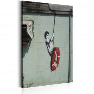 Tableau  Swinger, New Orleans  Banksy