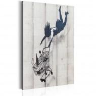 Tableau  Shop Til You Drop by Banksy