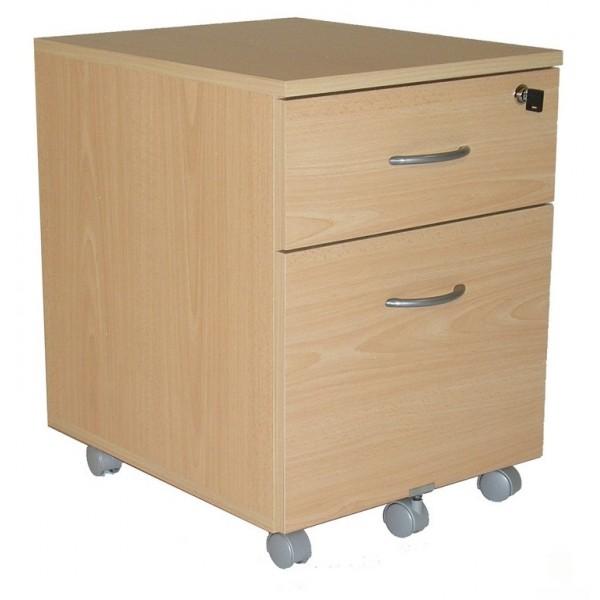 Pack bureau 140 caisson 2 tiroirs armoire haute winch for Caisson haut bureau