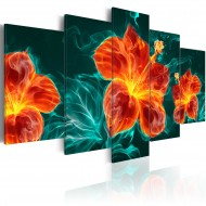 Tableau  Flaming Lily