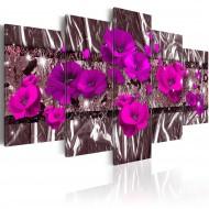 Tableau  Purple Poppies