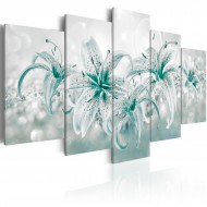 Tableau  Sapphire Lilies