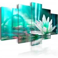 Tableau  Turquoise Lotus
