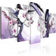Tableau  Fantaisie violette