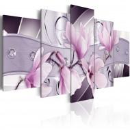 Tableau  Magnolia violette