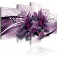 Tableau  Violet Lily
