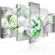 Tableau  Emerald Bouquet
