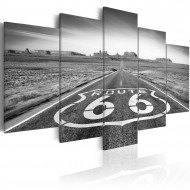 Tableau  Route 66  black and white