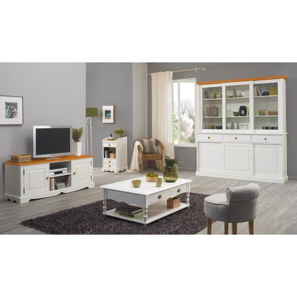 meuble banc tv pin miel de style anglais r alis en pin massif pictures to pin on pinterest. Black Bedroom Furniture Sets. Home Design Ideas