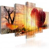 Tableau  Autumnal Love