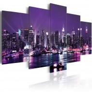 Tableau  Purple Sky