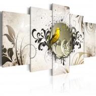 Tableau  Yellow bird