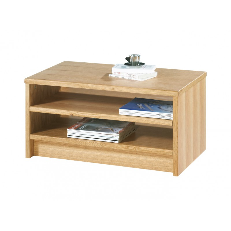 Table Basse Ch Ne Clair Rectangle 120 Cm