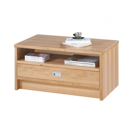 Table Basse Rectangle Chêne Naturel 85 cm