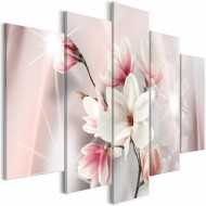Tableau  Dazzling Magnolias (5 Parts) Wide