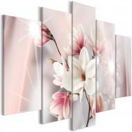Tableau  Dazzling Magnolias (5 Parts) Wide